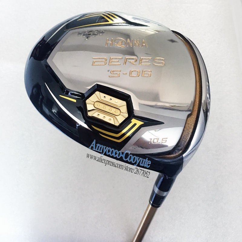 купить Cooyute New Golf clubs HONMA S-06 3Star Golf driver 9.5 or 10.5 loft HONMA driver Clubs Graphite shaft Golf shaft Free shipping по цене 9591.05 рублей