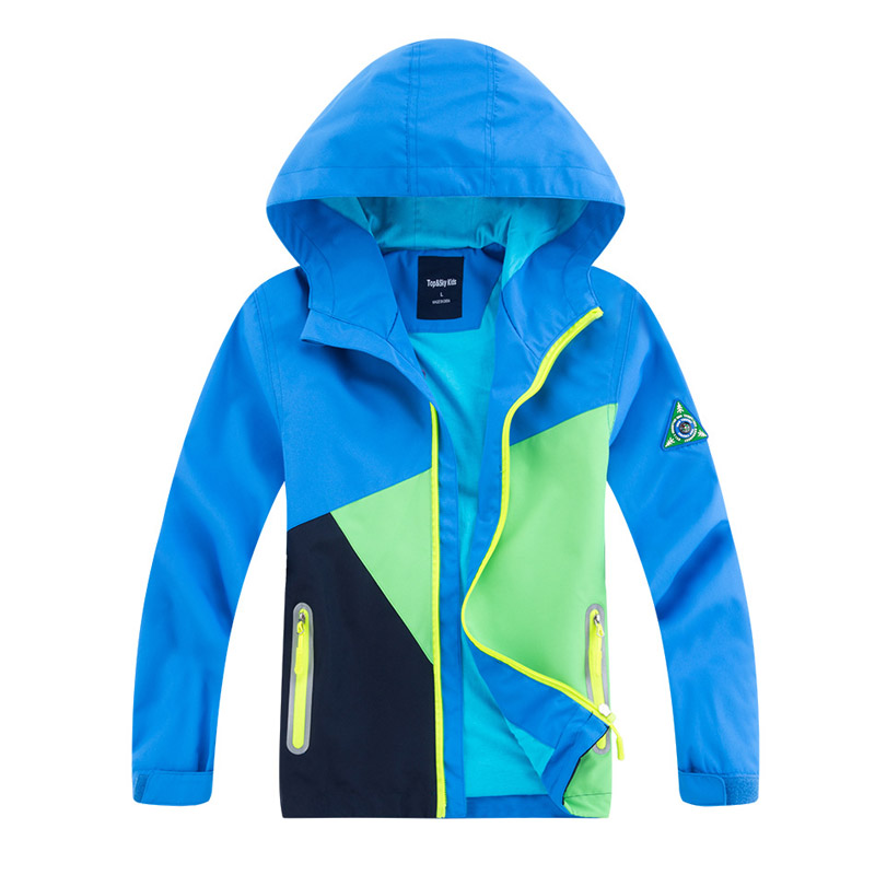 Image 3 - 2020 Autumn Winter Girls Boy Coat Outerwear Windbreaker Waterproof Coat Children Jacket For Kids Hooded For BoysJackets & Coats   -