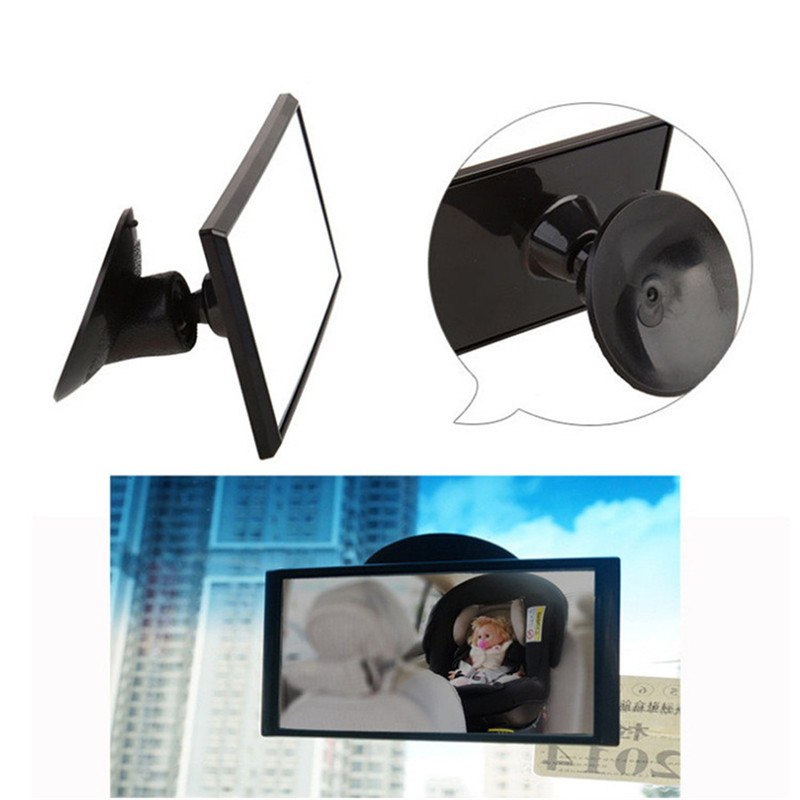 Baby Car Safety Rear Facing Mirror Easy View Back Seat Mirror Baby Facing Rear Ward Child Infant Care Square Safety Kids Monitor