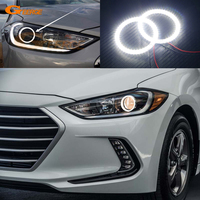 For Hyundai Elantra Avante 2016 2017 Excellent Angel Eyes Ultra Bright Illumination Smd Led Angel Eyes