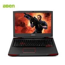 Bben игровой ноутбук Тетрадь G17 17.3 «FHD Ноутбуки i7-7700HQ GTX1060 6 г видео Оперативная память RGB подсветкой клавиатуры 16 г Оперативная память 128 г SSD + 500 г HDD