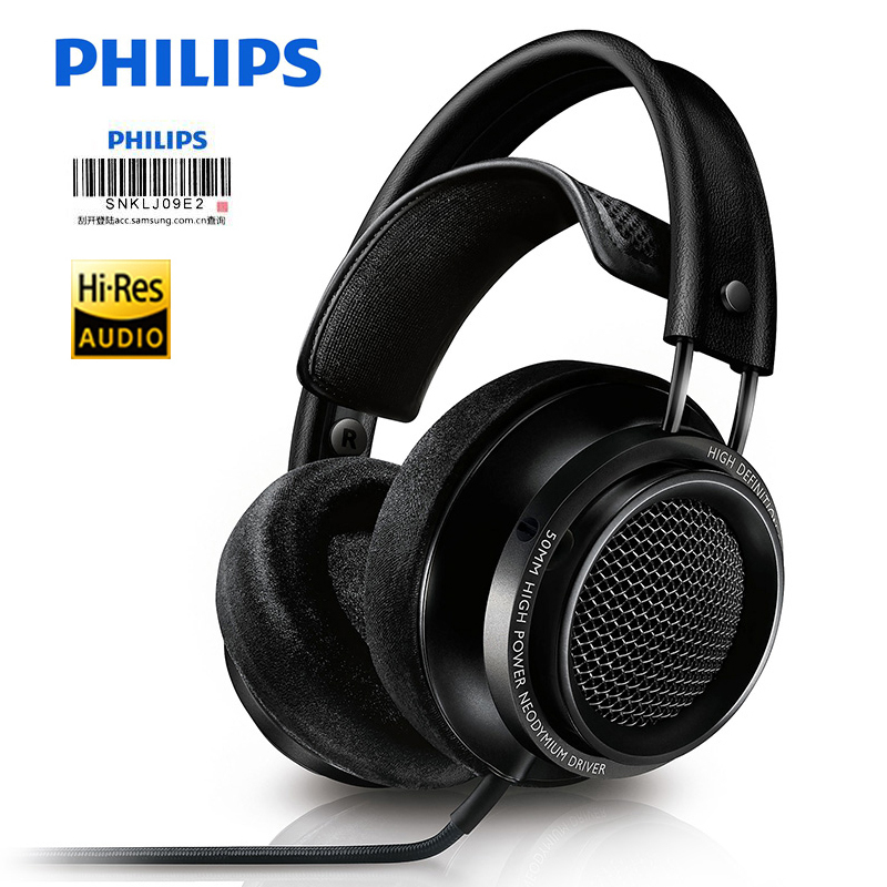 Philips Fidelio X2HR Black Professional Headphones won Gold Award 2015,CES Innovation Awards 2015,Best of CES ASIA 2016 Winner наушники philips fidelio s2 белые