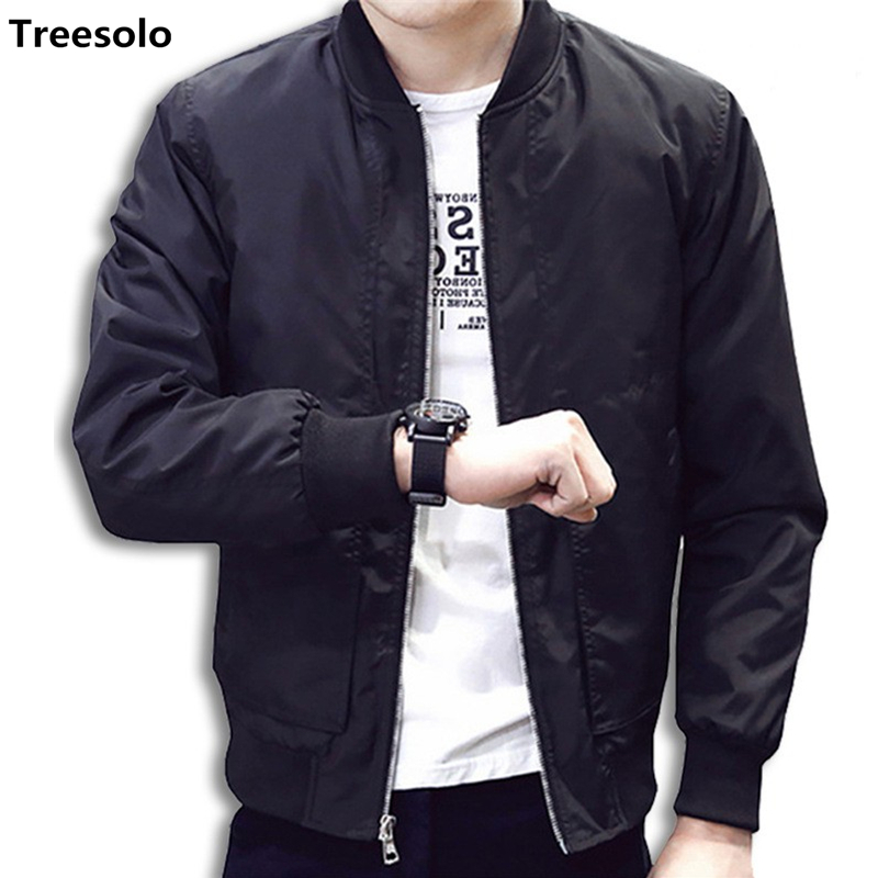 2019 jacket men casual baseball jacket Spring Autumn Fashion Slim Fit Men Jacket Thin Jackets Brand Casual Coat Top Quality 1043(China)