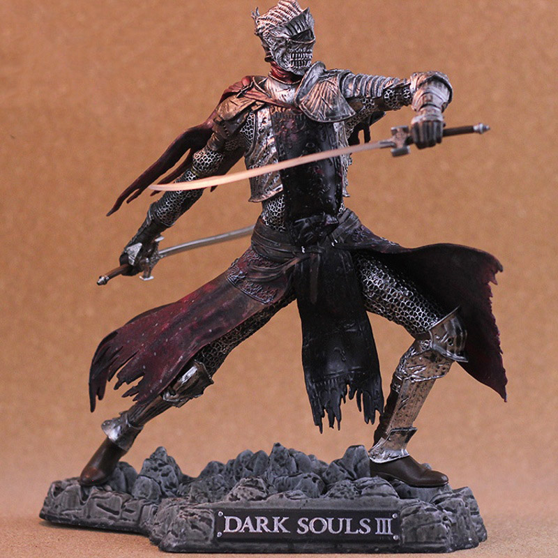 NEW Dark Souls 3 Red Knight 26cm Collector Edition Action Figure Model PS4 DLC