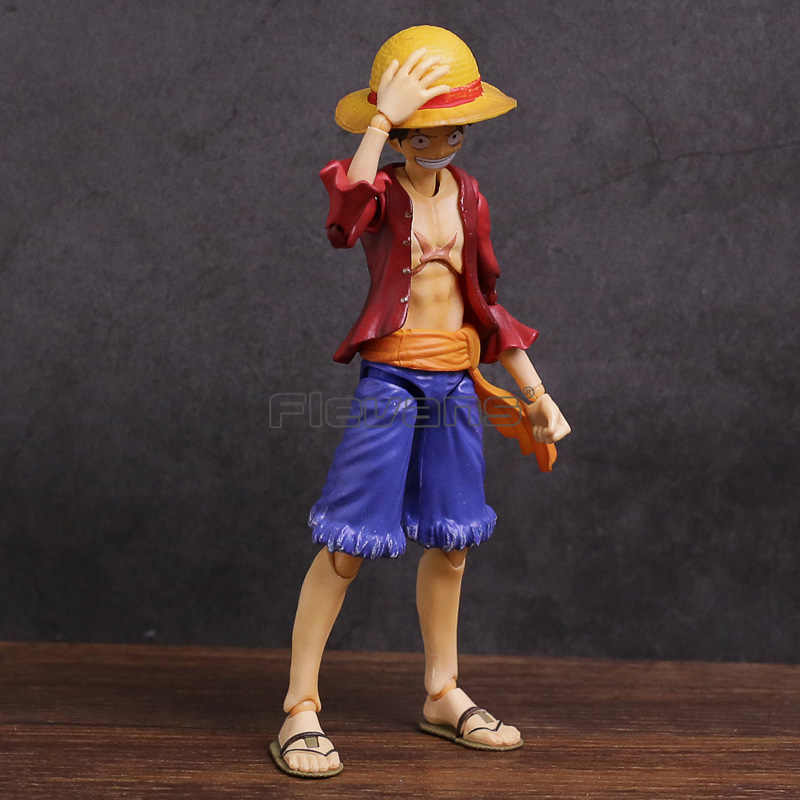 Variável de Heróis de Ação MegaHouse One Piece Monkey D Luffy PVC Action Figure Collectible Modelo Toy