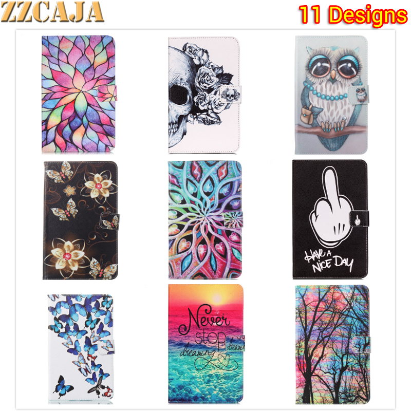 ZZCAJA for Apple iPad 2 3 4 Case Painted Flip Leather Shell for iPad 4 Stand Tablet Accessories Bag for iPad 2 3 9.7 inch Covers