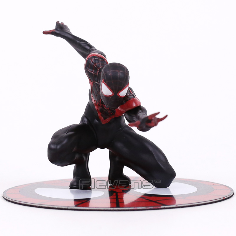 Action & Toy Figures Statue Spider Man Miles Morales 1/10 Scale Pre-painted Figure Collectible Model Toy 10cm Diligent Artfx