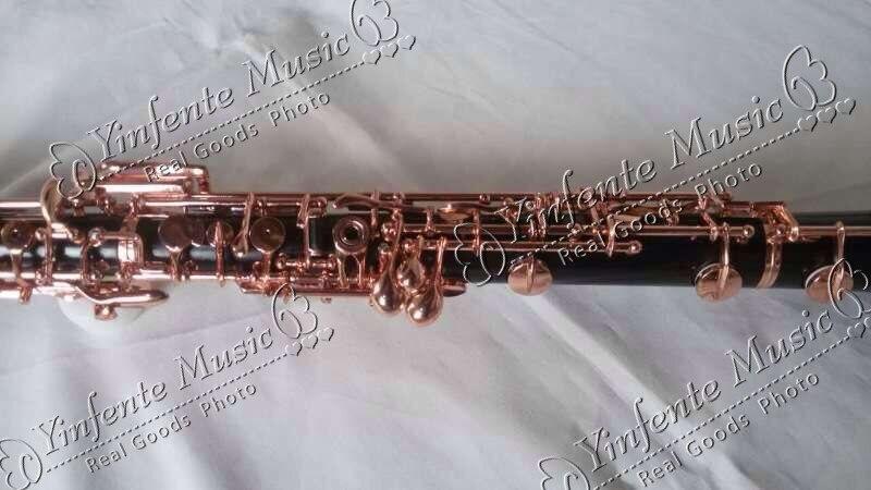 New oboe Bel Suono tasto C Ebanite Corpo 3rd Ottava sinistra F Risonanza F Professione 0123 #