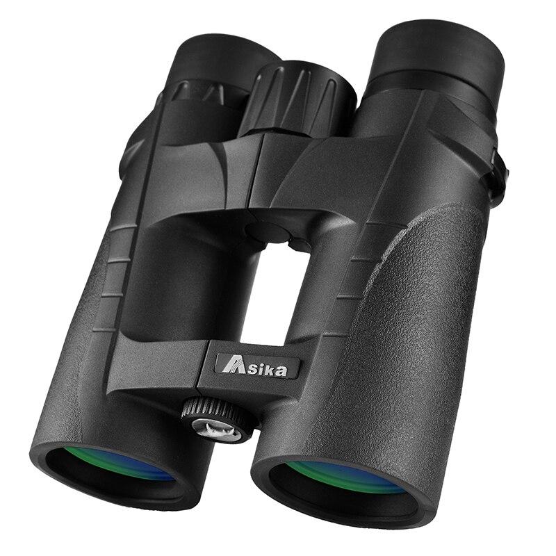 Professional Binoculars 8X42 HD High Quality Telescope Portable Handheld binocular Lll Night Vision for Hunting Camping
