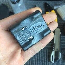 Fibra óptica tubo solto cabo jaqueta talhadeira ferramenta de fibra óptica feixe longitudinal tubo solto descascar faca stripper