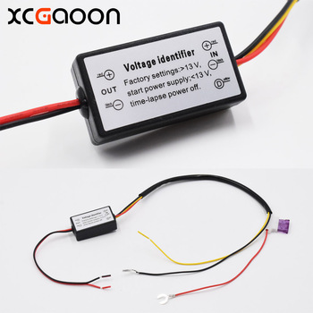 Контроллер ДХО XCGaoon, Автомобильные светодиодные дневные ходовые огни, реле жгута, диммер вкл/выкл, индикатор водителя противотуманных фар DC12-18V
