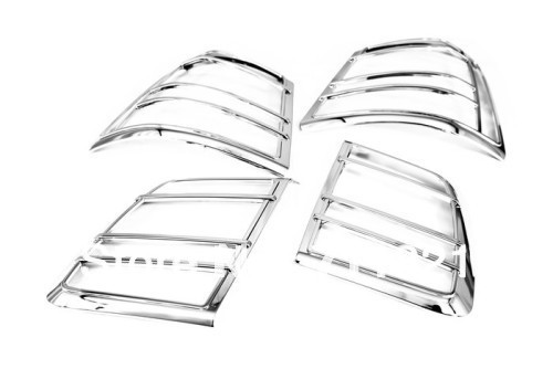 Car Styling Chrome Tail Light Cover For Kia Sorento 2010