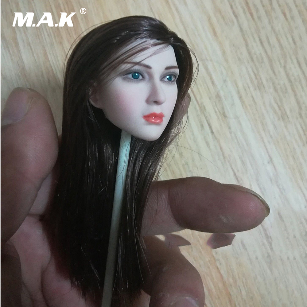 1/6 Scale Female Pale Head Model Movie TV Star Woman Head Sculpt Carving Toy For 12 Woman Girl Action Figure Body1/6 Scale Female Pale Head Model Movie TV Star Woman Head Sculpt Carving Toy For 12 Woman Girl Action Figure Body