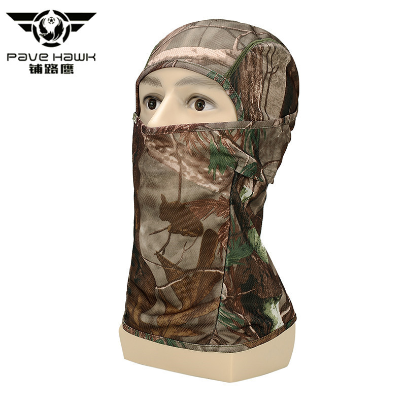 Pave Hawk Hat Scarf Tactical Outdoor Quick Dry Hood Hunt Full Face Mask Paintball War Game Helmet Camouflage Military Face Mask