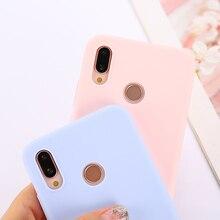 Candy Color Case for Huawei Y6 Y9 Y5