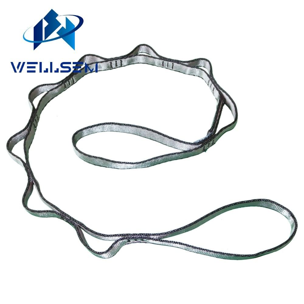 Wellsem 1pcs יוגה רצועת רצועת חבל דייזי צ'יאן עבור יוגה ערסל קמפינג בחוץ טיפוס ספורט ספורט