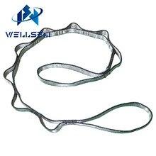 Wellsem 1pcs yoga extender strap rope daisy chian for yoga hammock Outdoor Camping Rock Climbing Sport