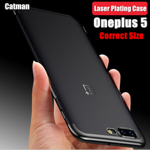 OnePlus 5 чехол оригинальный catman Марка лазерной покрытие мягкой ультра тонкий чехол для One Plus 5 на основе Snapdragon 835