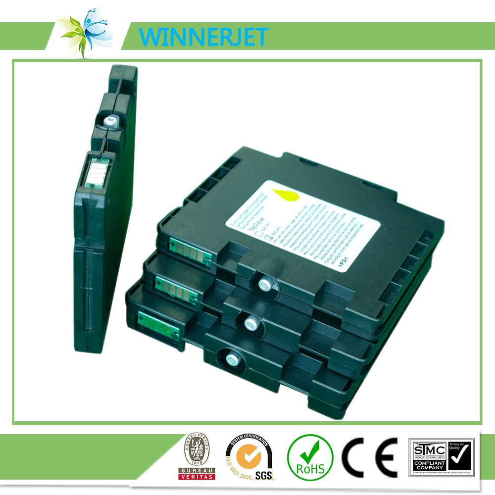 Winnerjet sawgrass sublijet GC41 gel sublimation ink cartridge for Ricoh SG GX GXe printers in Ink Cartridges from Computer Office