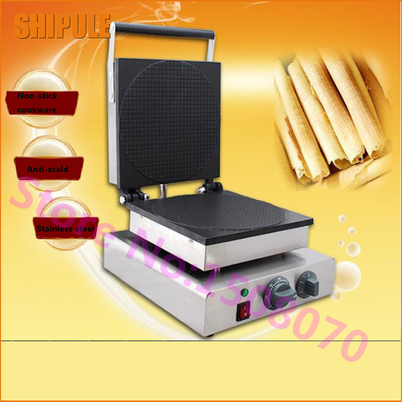 SHIPULE 2017 New arrival electric waffle maker commercial ice cream cone machine cone egg roll maker edtid new high quality small commercial ice machine household ice machine tea milk shop