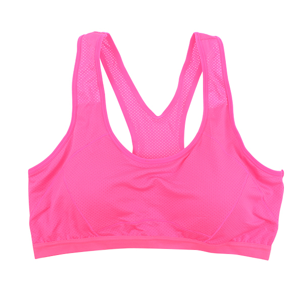c4fe24deda Athletic Sports Bras Women Stretch Crop Tops Neon Quick Dry Running Vest  Push Up Tank Fitness Sport Wear Clothes-in Camisoles   Tanks from Underwear  ...