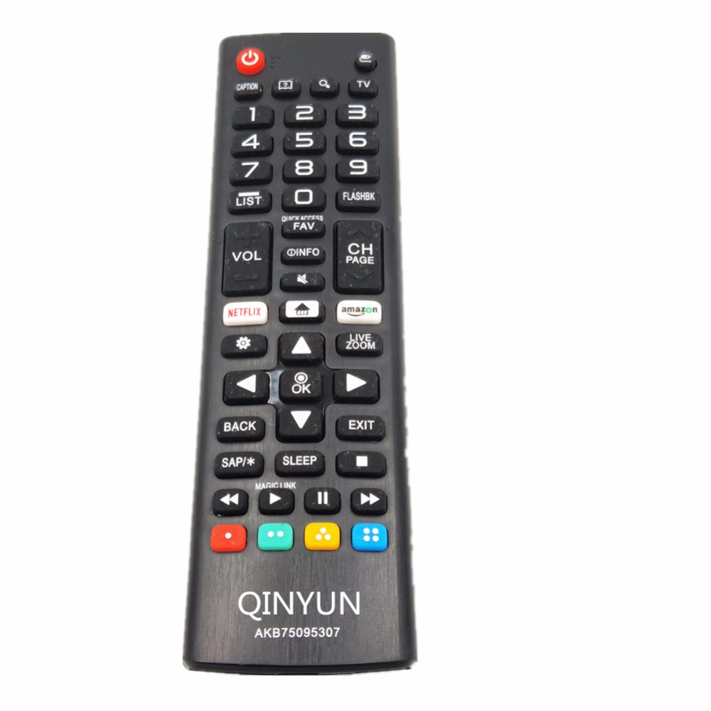 AKB75095307 AKB75095303 Remote Control for LG led TV 55LJ550M 32LJ550B 32LJ550M-UB with amazon/netflix buttons APP led панели lg 42ls73c b