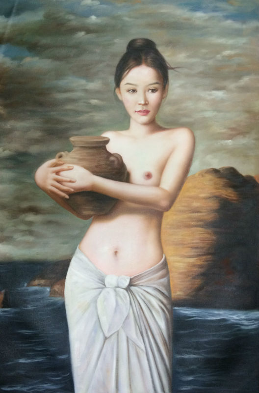 Chinese nude oil paintings — pic 9