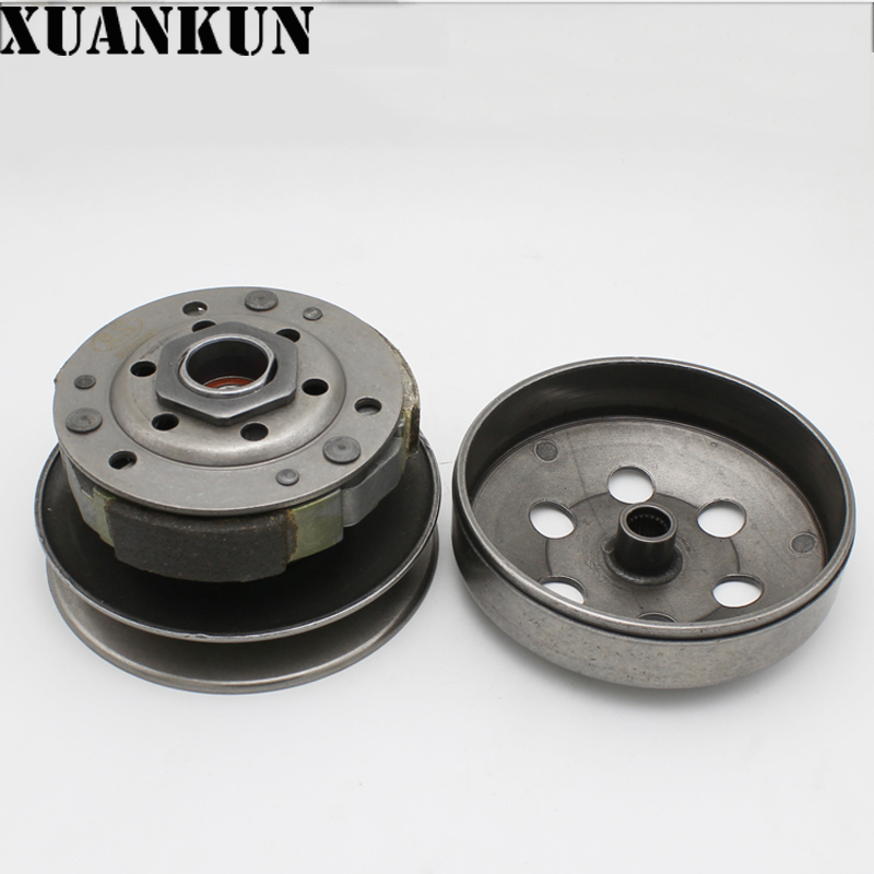 XUANKUN GY6-50 60CC 80CC Motorcycle Scooter Belt Pulley Belt Wheel Driving Wheel AssemblyXUANKUN GY6-50 60CC 80CC Motorcycle Scooter Belt Pulley Belt Wheel Driving Wheel Assembly