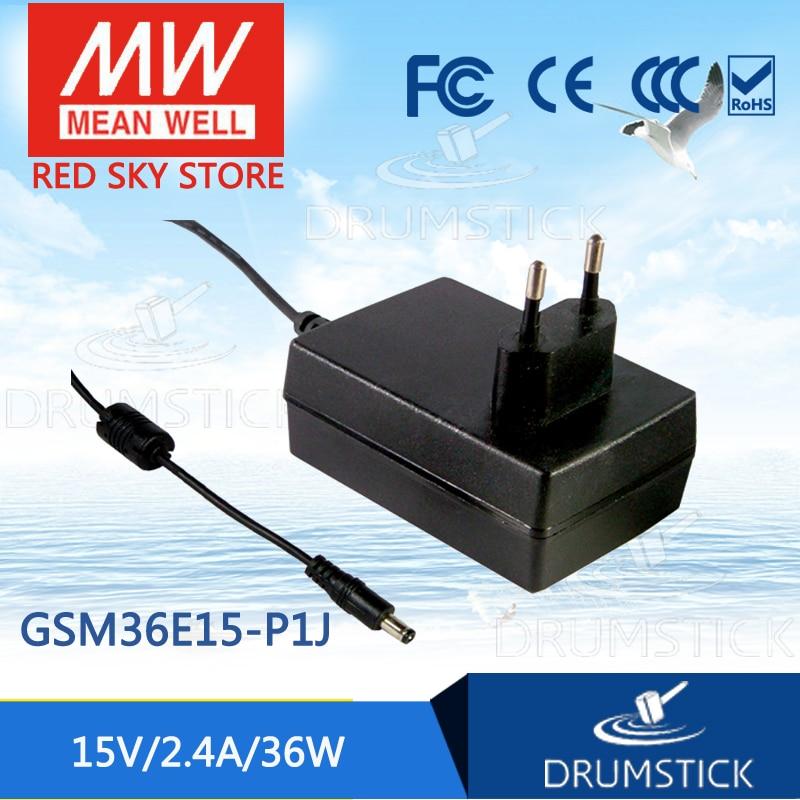 Advantages MEAN WELL GSM36E15-P1J 15V 2.4A meanwell GSM36E 15V 36W AC-DC High Reliability Medical Adaptor advantages mean well gsm18b12 p1j 12v 1 5a meanwell gsm18b 12v 18w ac dc high reliability medical adaptor