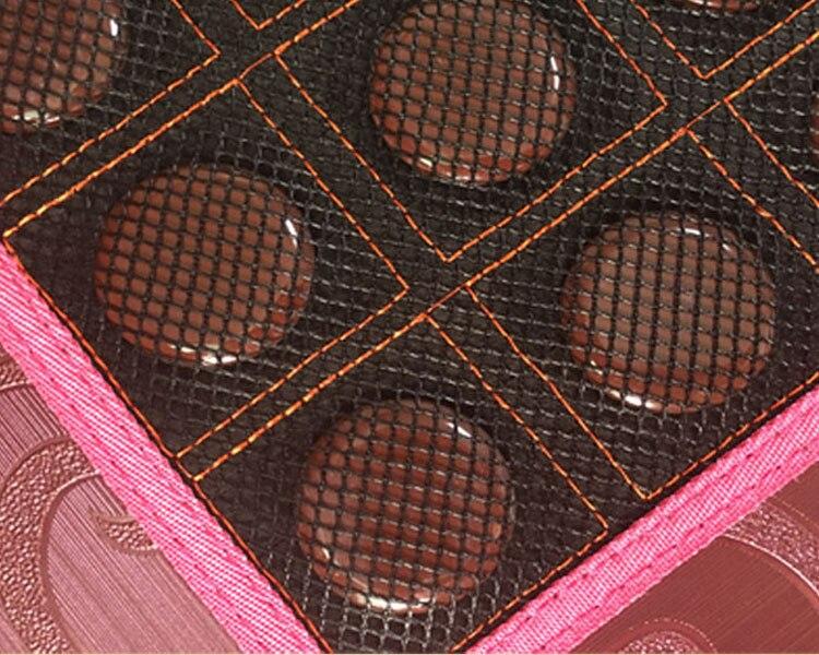 Электрический Теплый Камень Турмалин массажная подушка отрицательных ионов турмалин Электрический Кровать Массажная Подушка 3 Размеры дл...