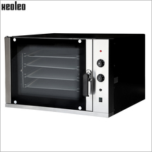 XEOLEO Electric Convection Oven Four-layer Baker machine Commercial Bread oven Mechanical Control Bread Baking furnace 6000W