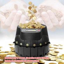 Электронный сортировщик монет Счетчик счетная машина самодиагностика светодиодный дисплей Поддержка подсчета добавляя режимы дозирования для евро монет