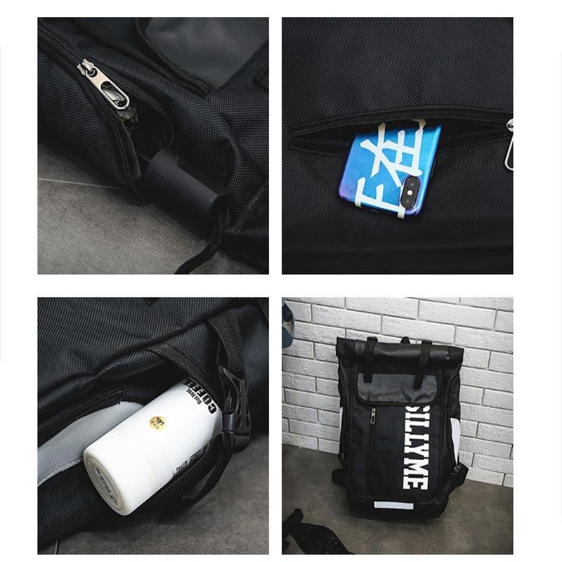 Hip hop Style Unisex Backpack Street Fashion Harajuku Letter Print Travel Bag Sports Backpack 6