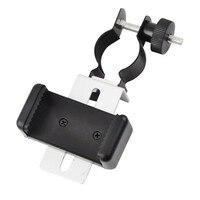 Evrensel Mobil cep telefonu Küçük Boyutu Adaptörü Klip Braketi Dağı Tutucu için Spotting Kapsamları Teleskop Mikroskop Aksesuarları