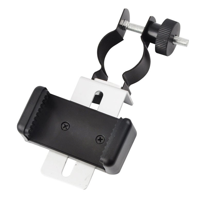 Universal Mobile Cell Phone Small Size Adapter Clip Bracket Mount Holder for Spotting Scopes Telescope Microscope Accessories