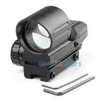 New High Quality Hunting Tactical Holographic Scope 4 Type Reflex Red Green Dot Sight 11mm Rail Free SGP Shipping!