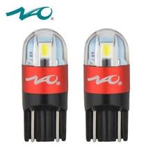 НАО T10 W5W светодиодный лампы 3030 SMD 168 194 автомобильные аксессуары Габаритные огни настольная лампа Авто 12 V Белый янтарный, Хрустальный синий и красный цвета двигателя