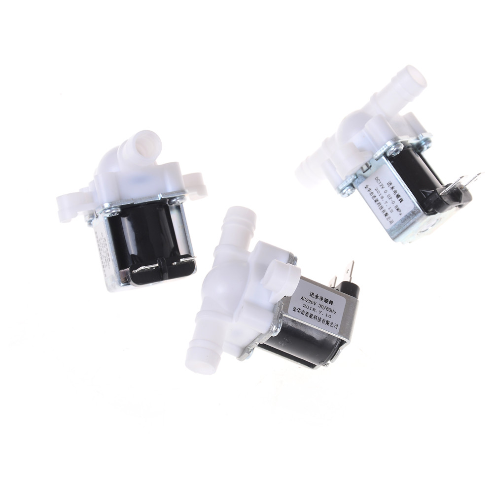 12/24/36/110/220V Pressurized Solenoid Valve Inlet Valve 10mm For Water Dispenser Water Purifier Plastic Water Valve