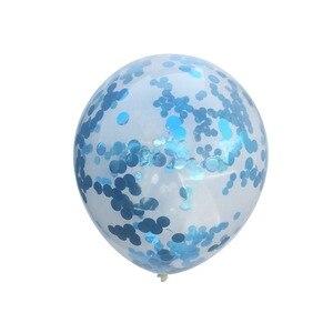 Image 3 - Laphil Tắm Lá Bóng Mẹ Có Màu Xanh Lam Hồng Confetti Ballons Của Nó Là Một Cậu Bé Gái Giới Tính Tiết Lộ Babyshower Đảng nguồn Cung Cấp