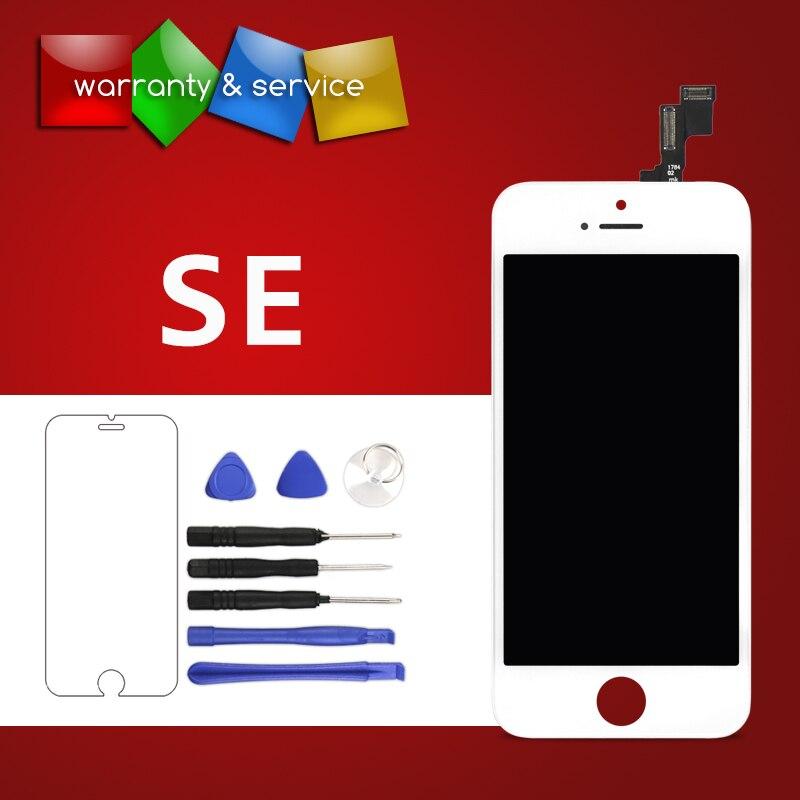 Nova marca Para o iphone SE LCD Qualidade OEM Digitador Da Tela + Quadro Assembléia Black White Para o iphone SE Display LCD + Tela de toque