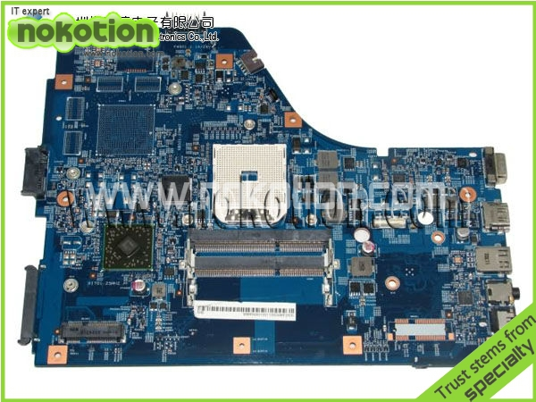 все цены на NOKOTION Original FOR Acer 5560 Motherboard 48.4M702.011 MB.RNW01.001 MBRNW01001 DDR3 Mother board FULL TEST онлайн