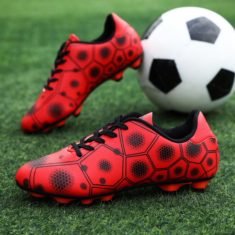 Buty piłkarskie, korki. Obuwie dla dzieci i dorosłych RED