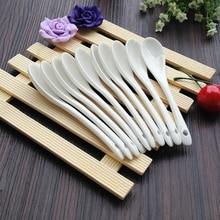 Tea-Spoon Ceramic Small Kitchen-Tool Baby White for Feeding-Honey Milk Soup-Stir Coffee