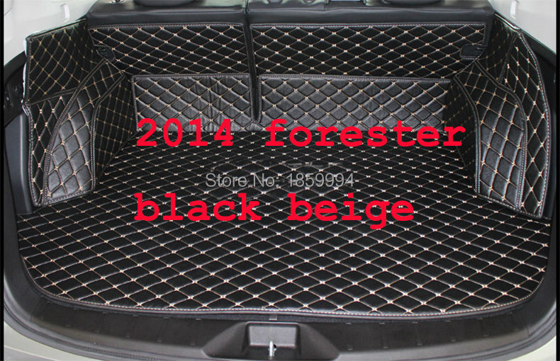 for 2012-2017 S-UBARU XV/OUTBACK/FORESTER rear tail car trunk mat durable boot carpets car styling for xv 2012 2014 forester new outback mudguards refit fender stable splasher