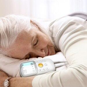 Image 5 - JUMPER onlarca fizik tedavi cihazı sağlık elektrot pedleri darbe servikal boyun masajı akupunktur stimülatörü tel kas