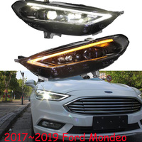 Bumper lamp For Mondeo 2017 2018 2019 2013 2014 2015 2016year Headlight fusion Head light DRL hi lo Lens Bi Xenon HID fustion