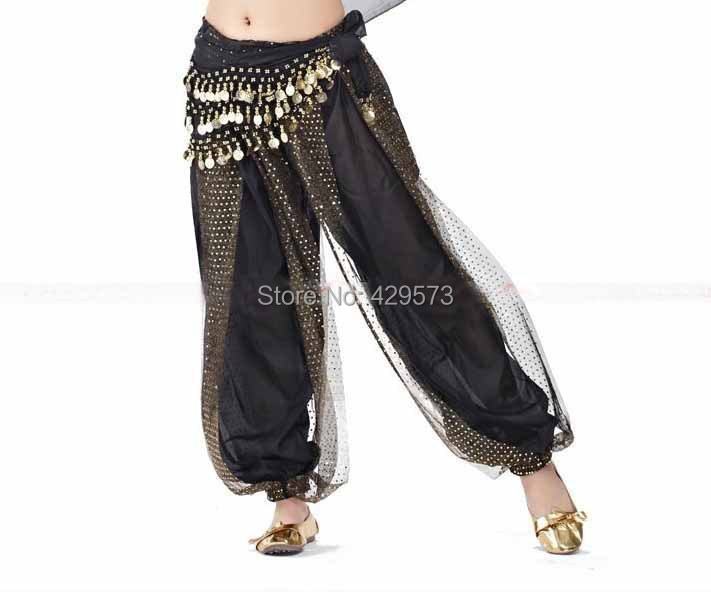 Free-shipping Wholesale Belly Dance Harem Pants With Sparkly Surface 13 Color Available
