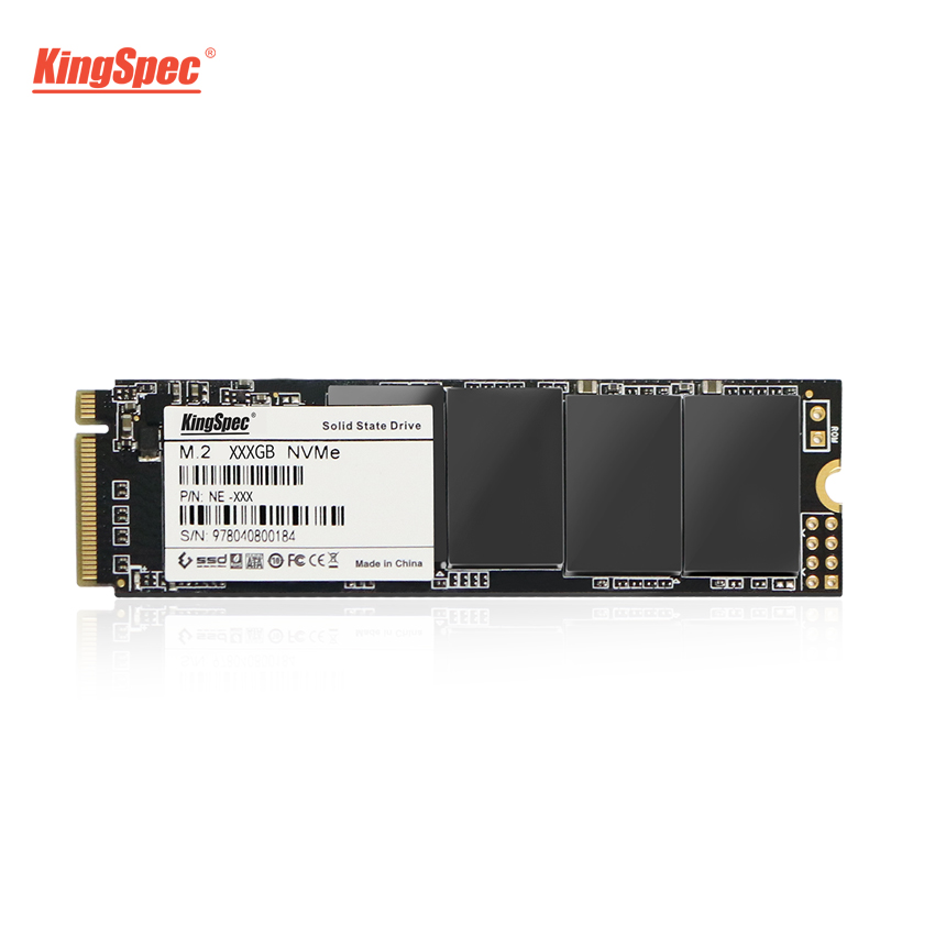 KingSpec M.2 SSD 500 GB 512 GB Signal de PCI-e3.0X4 NVMe disque dur solide HDD HD 22X80 SSD M2 disque dur interne pour tablettes d'ordinateur portable
