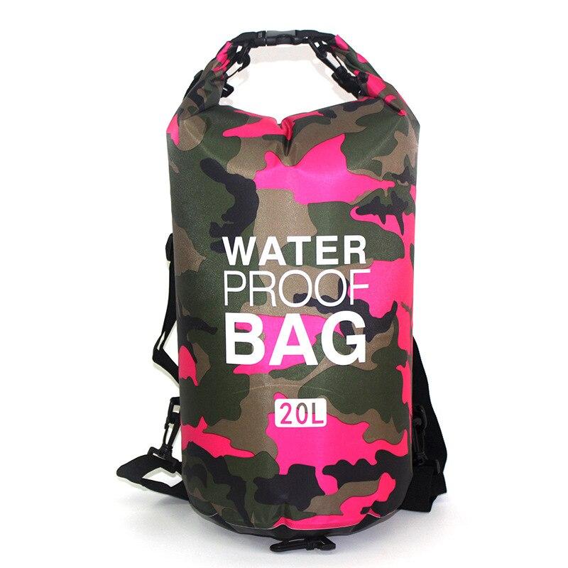 Suya davamlı çanta Ultralight Camping Quru Təşkilatçı - İdman çantaları - Fotoqrafiya 5