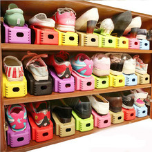 10pcs/set Shoes Rack Shelf Modern Double Cleaning cabinet Living Room Shoe box Shoes Storage Organizer Stand Shelf(China)